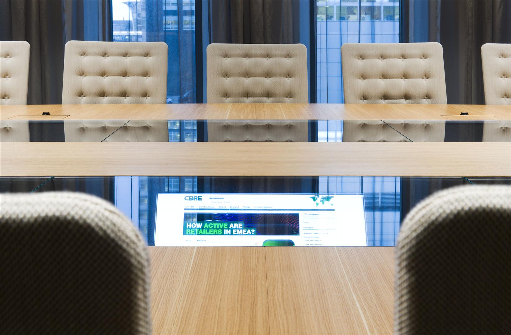 CBRE - Case Study - CBRE HQ The Netherlands - Symphony Offices, Zuidas, Amsterdam - Interior 12
